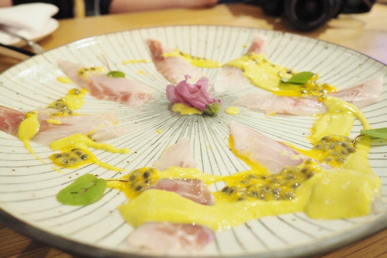 Emma Victoria Stokes Taste of Rofuto Seabass Tiradito