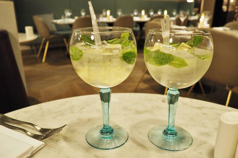 Emma Victoria Stokes Harvey Nichols Birmingham Mailbox Wine Dine Sunshine £22 Meal Restaurant Cocktails Bombay Saphire