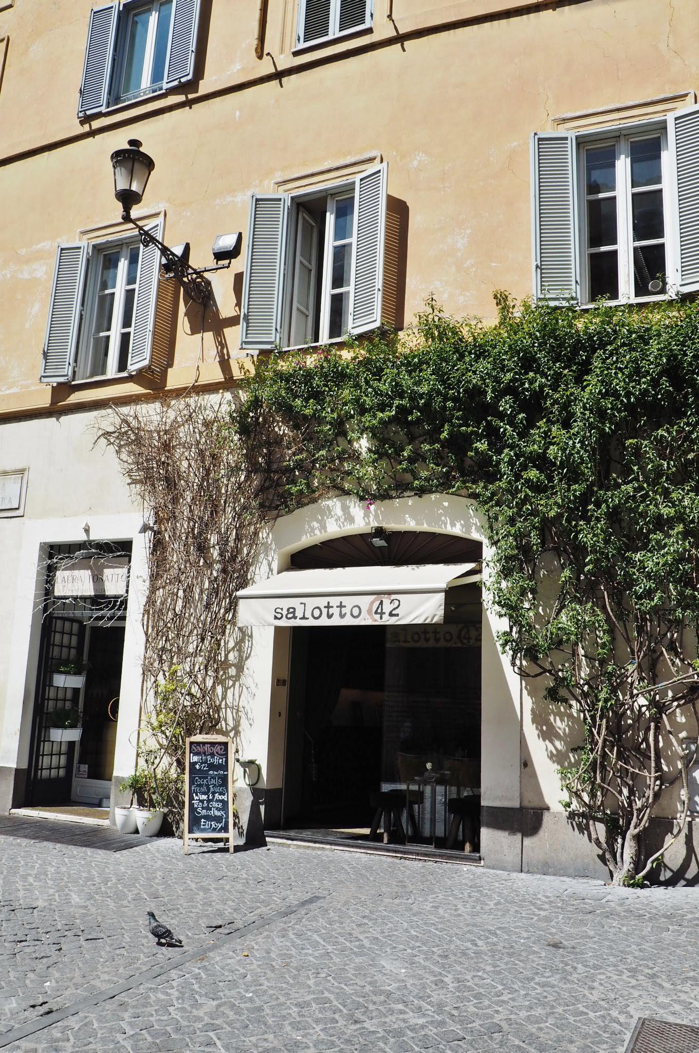 Emma Victoria Stokes Rome Holiday Restaurant