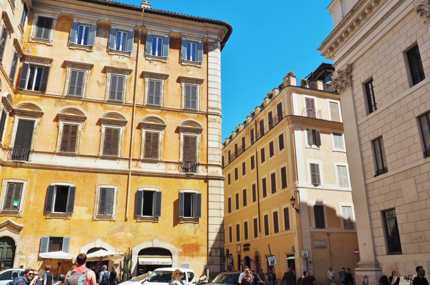 Emma Victoria Stokes Rome Holiday Building