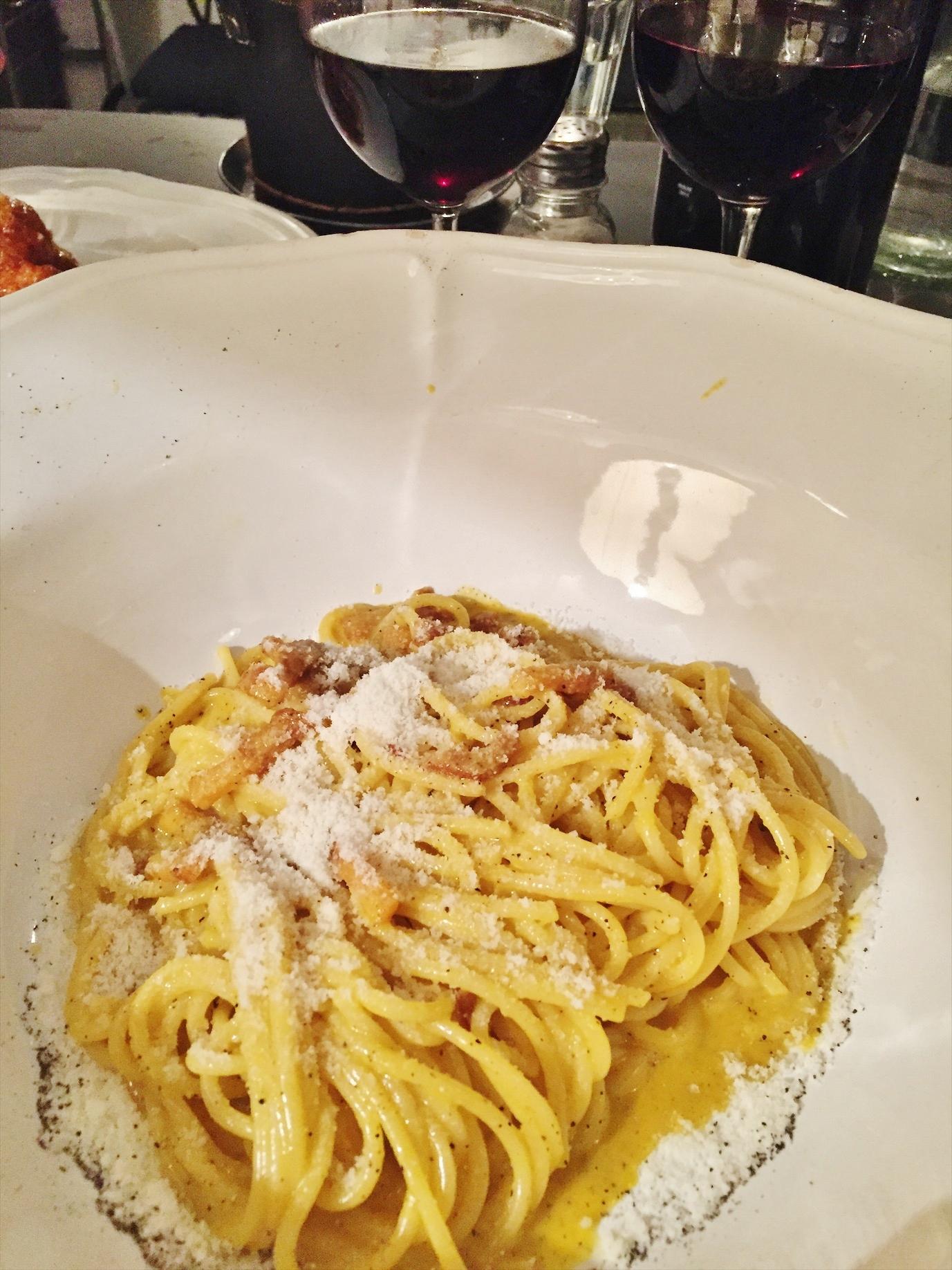 Emma Victoria Stokes Rome Blog Post Food Pasta