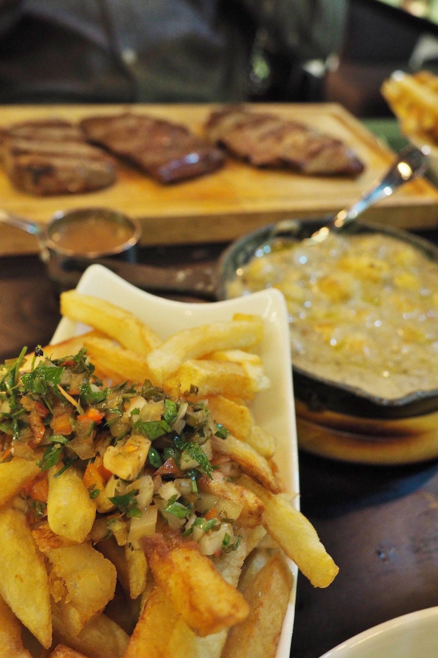 Emma Victoria Stokes Gaucho Birmingham Argentinian Steak Restaurant Fries