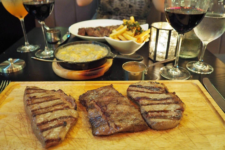 Emma Victoria Stokes Gaucho Birmingham Argentinian Steak Restaurant Tasting Plate