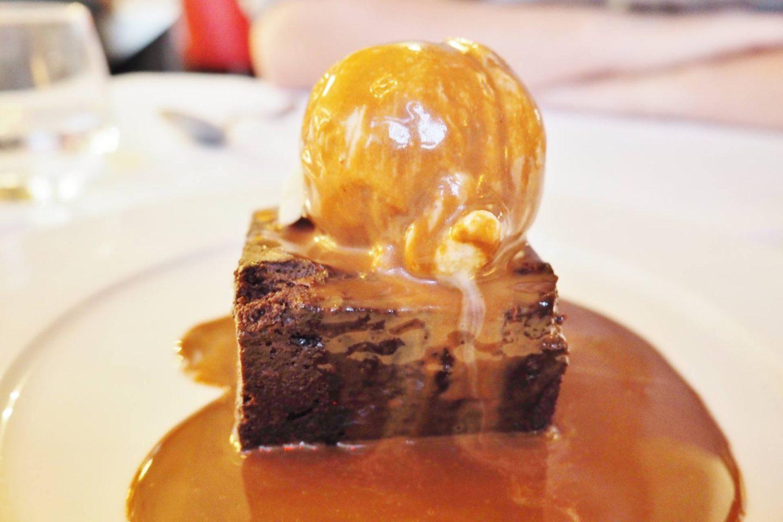 Emma Victoria Stokes Hotel La Tour Chocolate Brownie