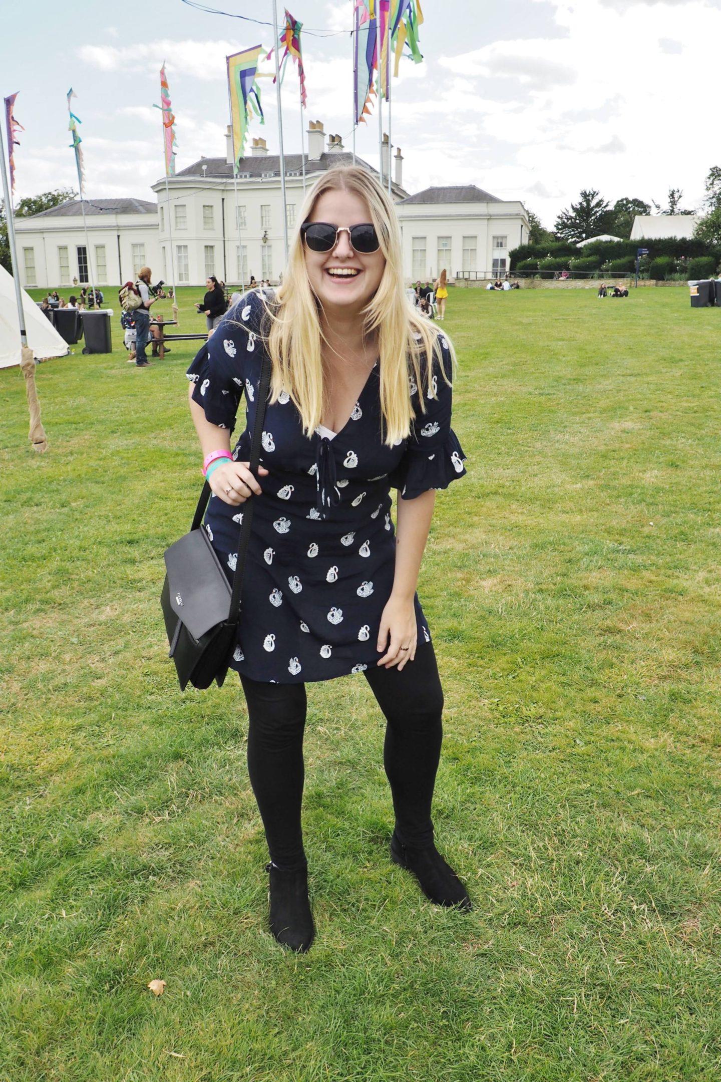 Emma Victoria Stokes V Festival With Debenhams
