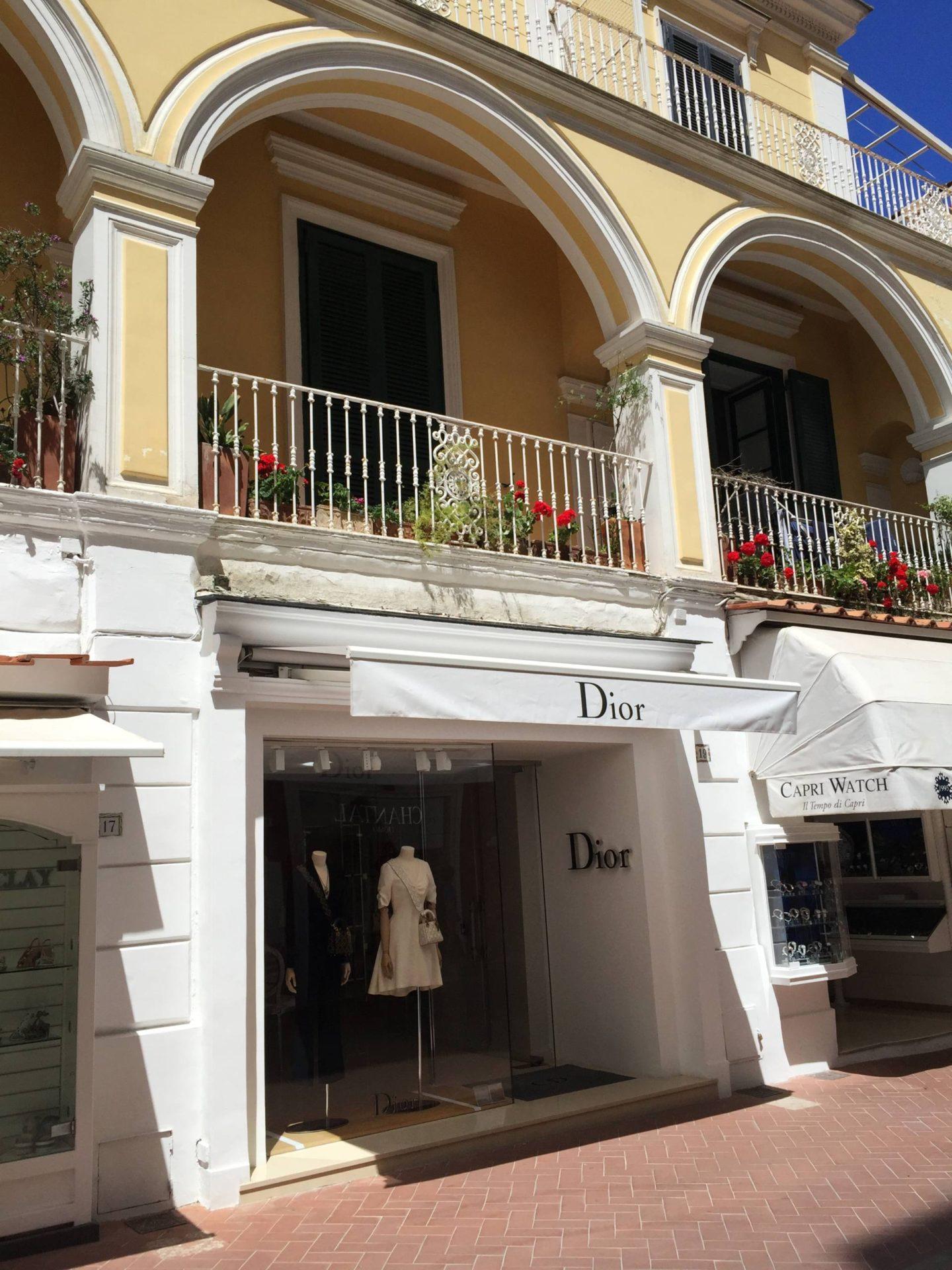 Emma Victorian Stokes Boat Tour Capri Dior