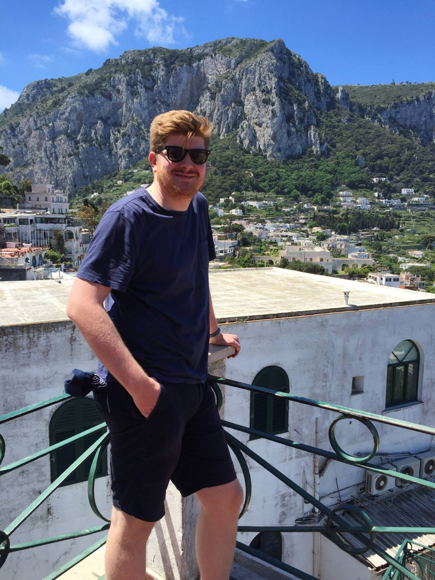 Emma Victorian Stokes Boat Tour Capri Josh