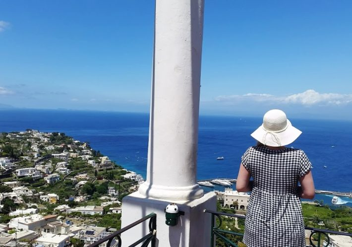 Emma Victoria Stokes Boat Tour Over To Island of Capri Italy