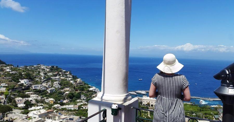 Emma Victoria Stokes Boat Tour Over To Island of Capri Italy