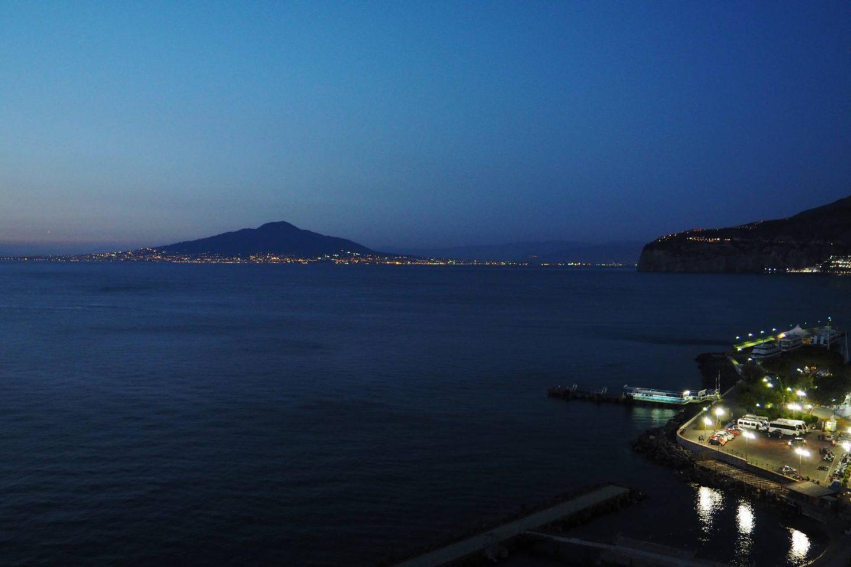 Emma Victoria Stokes Sorrento Nighttime Mount Etna