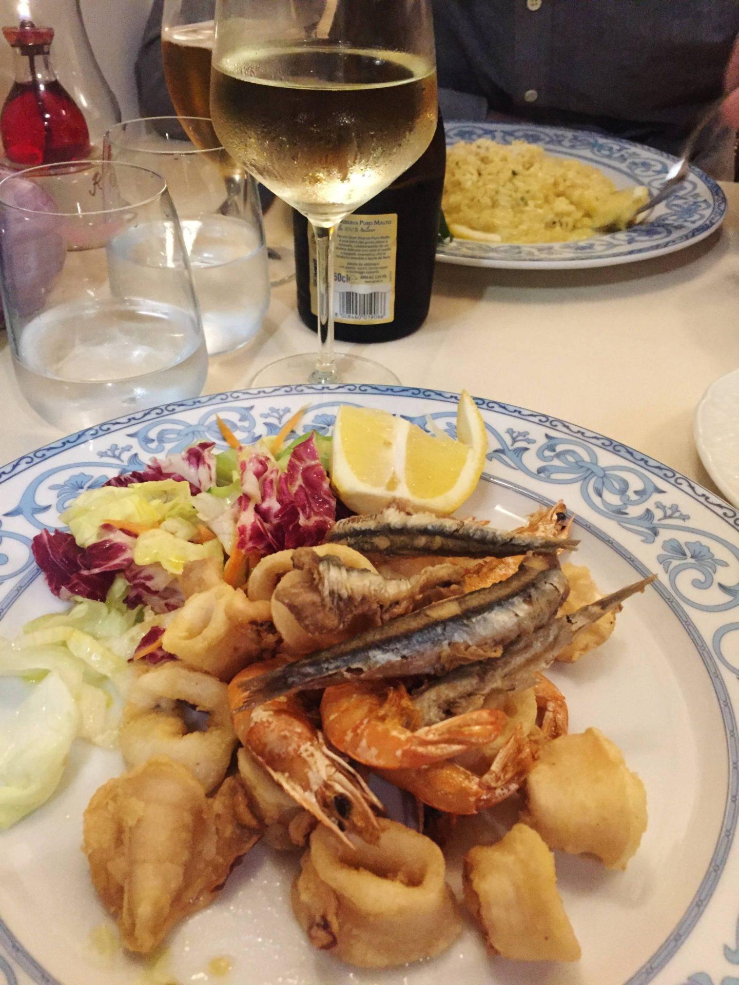 Emma Victoria Stokes Sorrento Food Seafood Platter