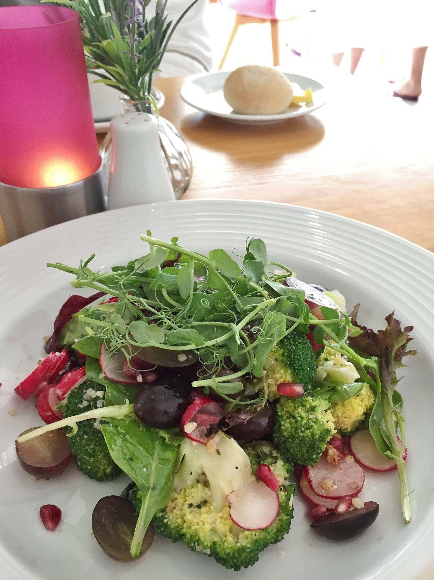 Emma Victoria Stokes Bank House Hotel And Spa Menu Lunch Super Food Salad