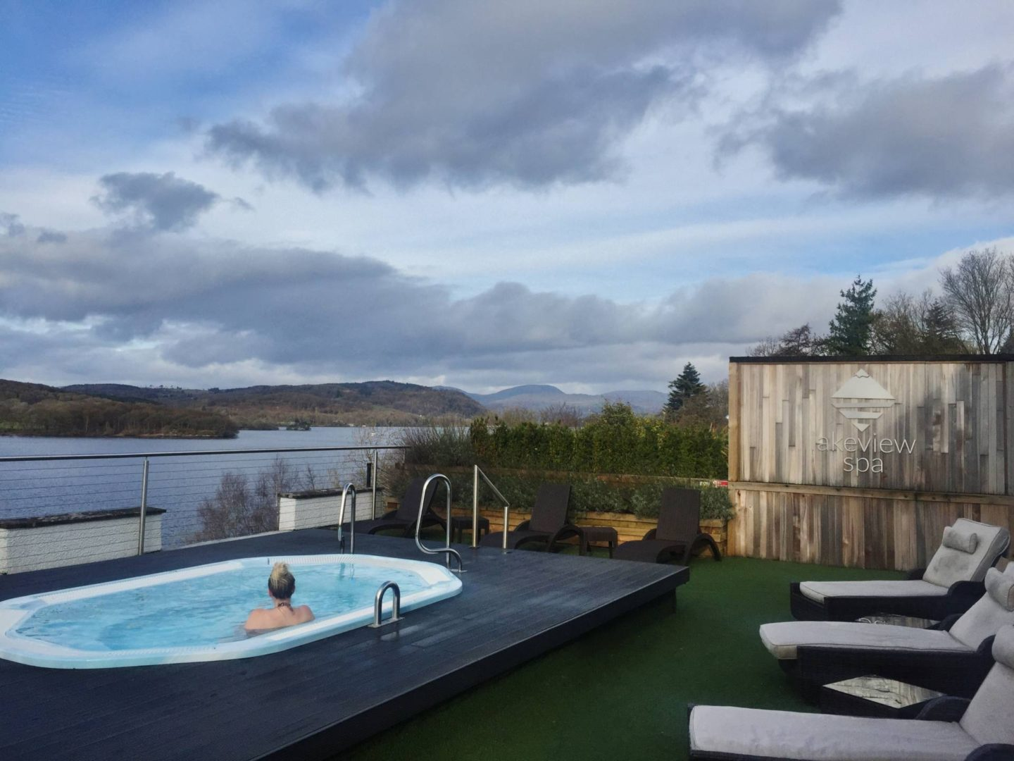 Emma Victoria Stokes Beech Hill Hotel And Spa Lakeview Windermere Hot Tub