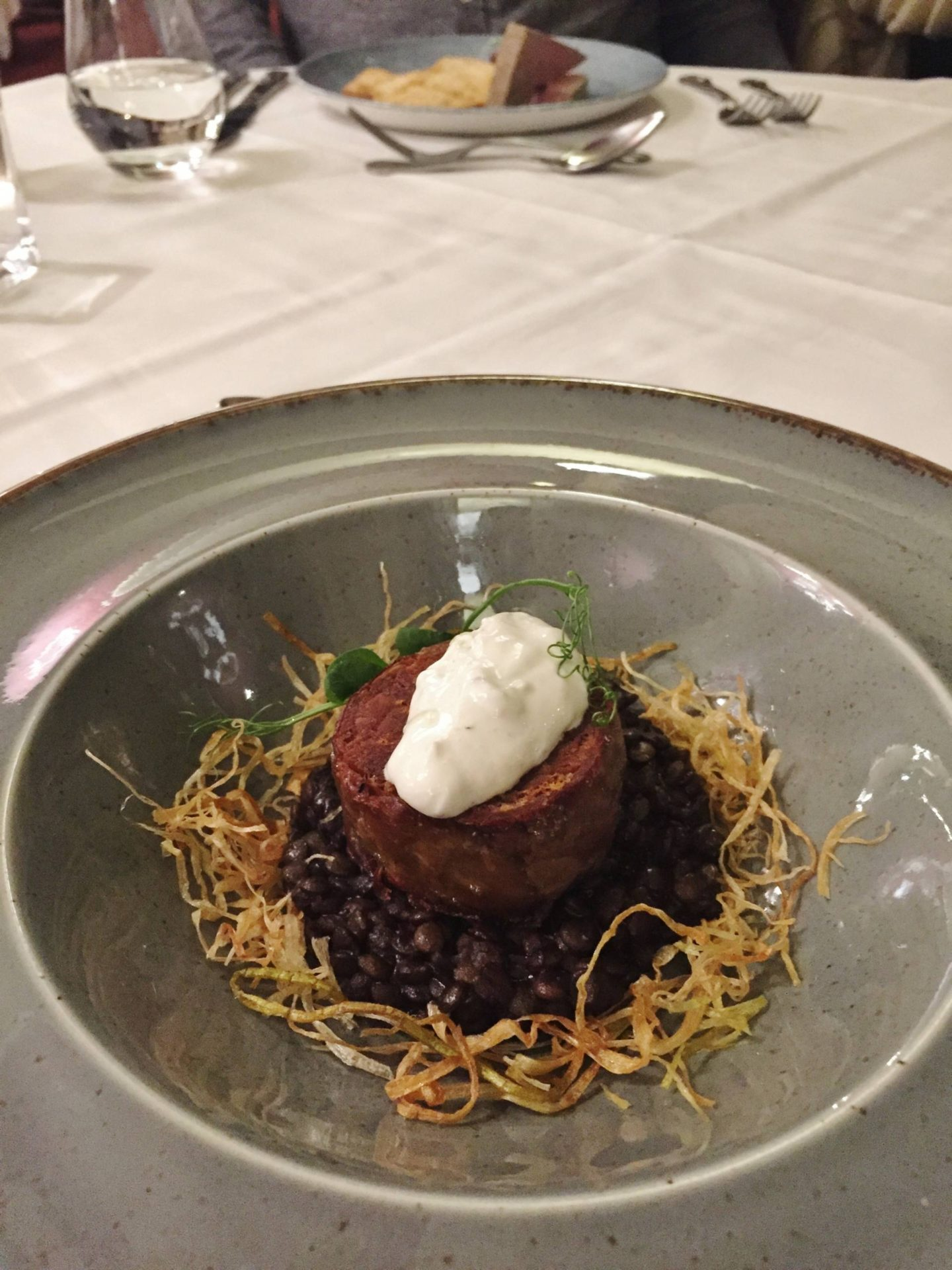 Emma Victoria Stokes Beech Hill Hotel And Spa Review Lamb Breast Roulade