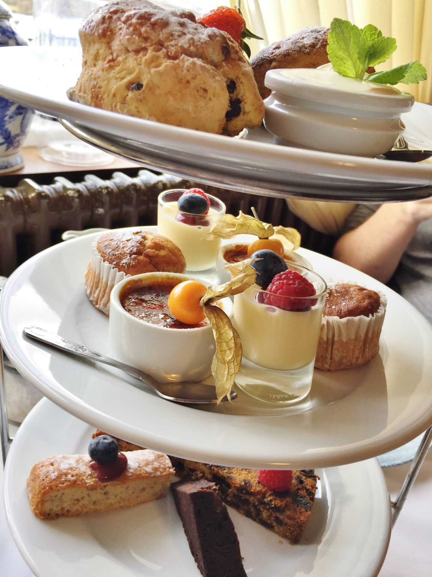 Emma Victoria Stokes Beech Hill Hotel And Spa Lakeview Windermere Champagne Afternoon Tea Scones Cakes