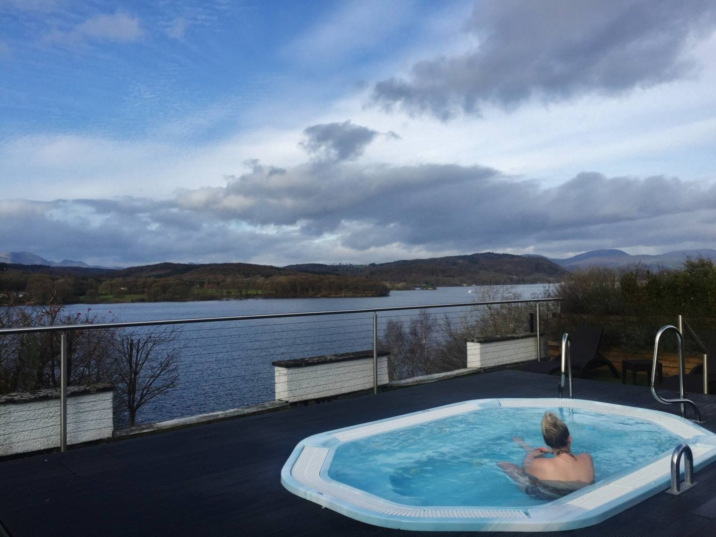 Emma Victoria Stokes Beech Hill Hotel And Spa Lakeview Windermere Hot Tub Scented Garden