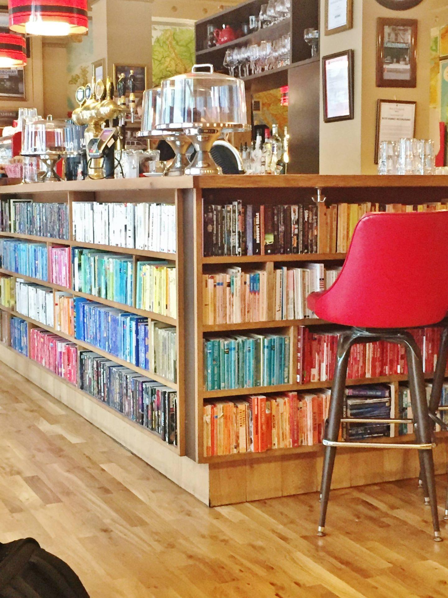 Emma Victoria Stokes Iceland Reykavik Laundromat Cafe Breakfast Books