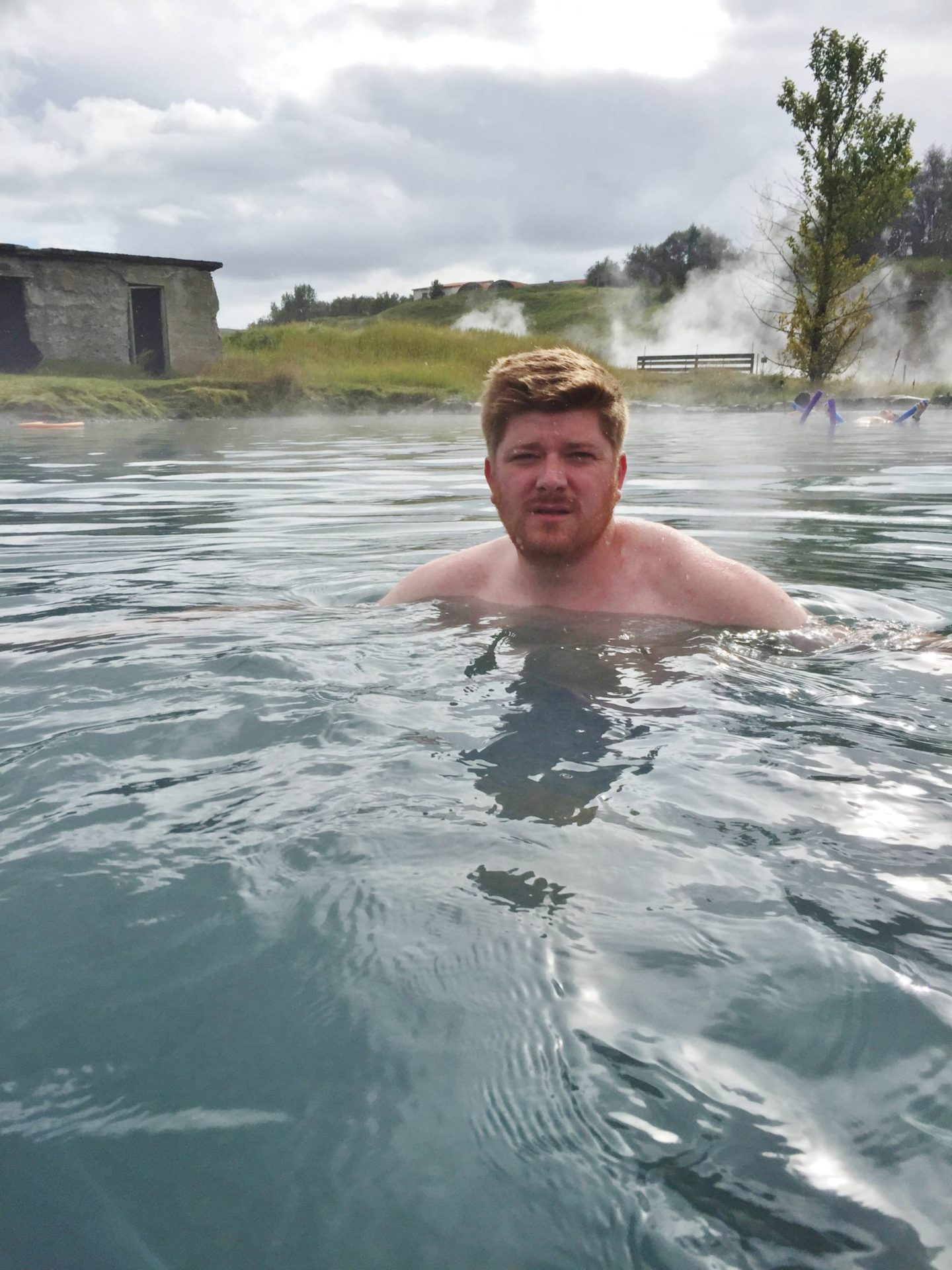 Emma Victoria Stokes Reykjavik Iceland Secret Lagoon Josh