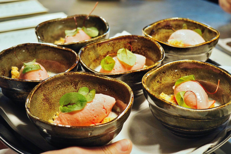 Sauce Supper Club Menu Masterchef Finalists Litchfield The Boat Inn Rhubarb
