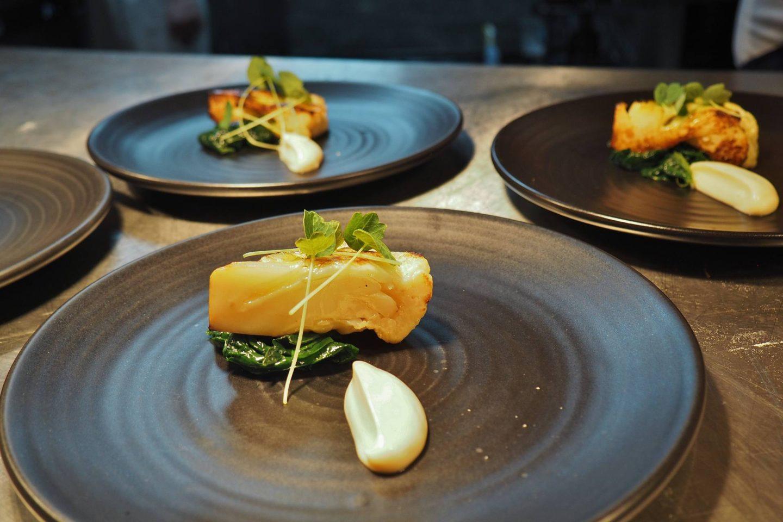 Sauce Supper Club Menu Masterchef Finalists Litchfield The Boat Inn Food