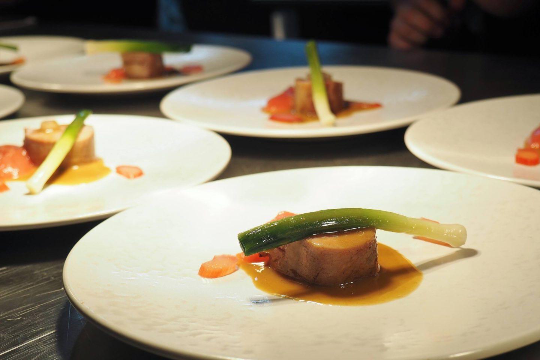Sauce Supper Club Menu Masterchef Finalists Litchfield The Boat Inn Pork
