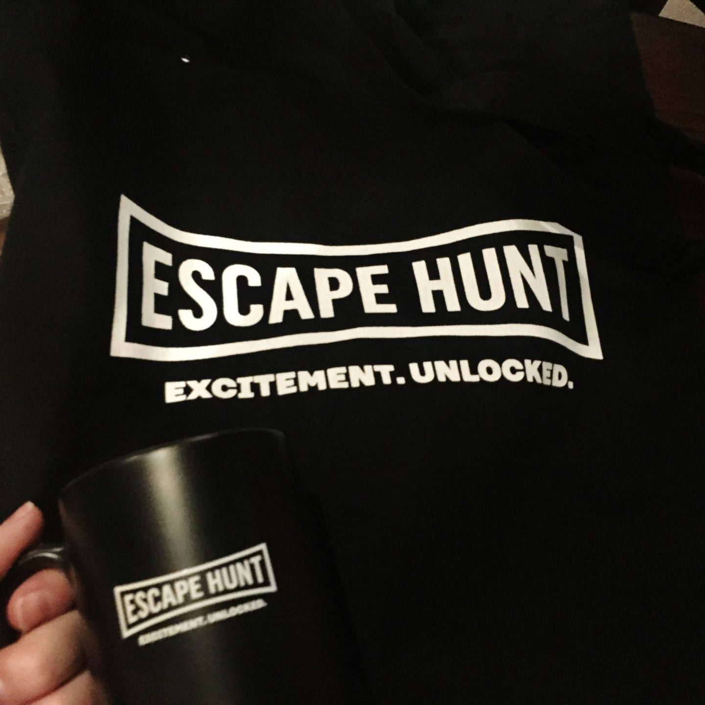 Escape Hunt Birmingham Chairs Sitting Area Leaderboard Goody Bag