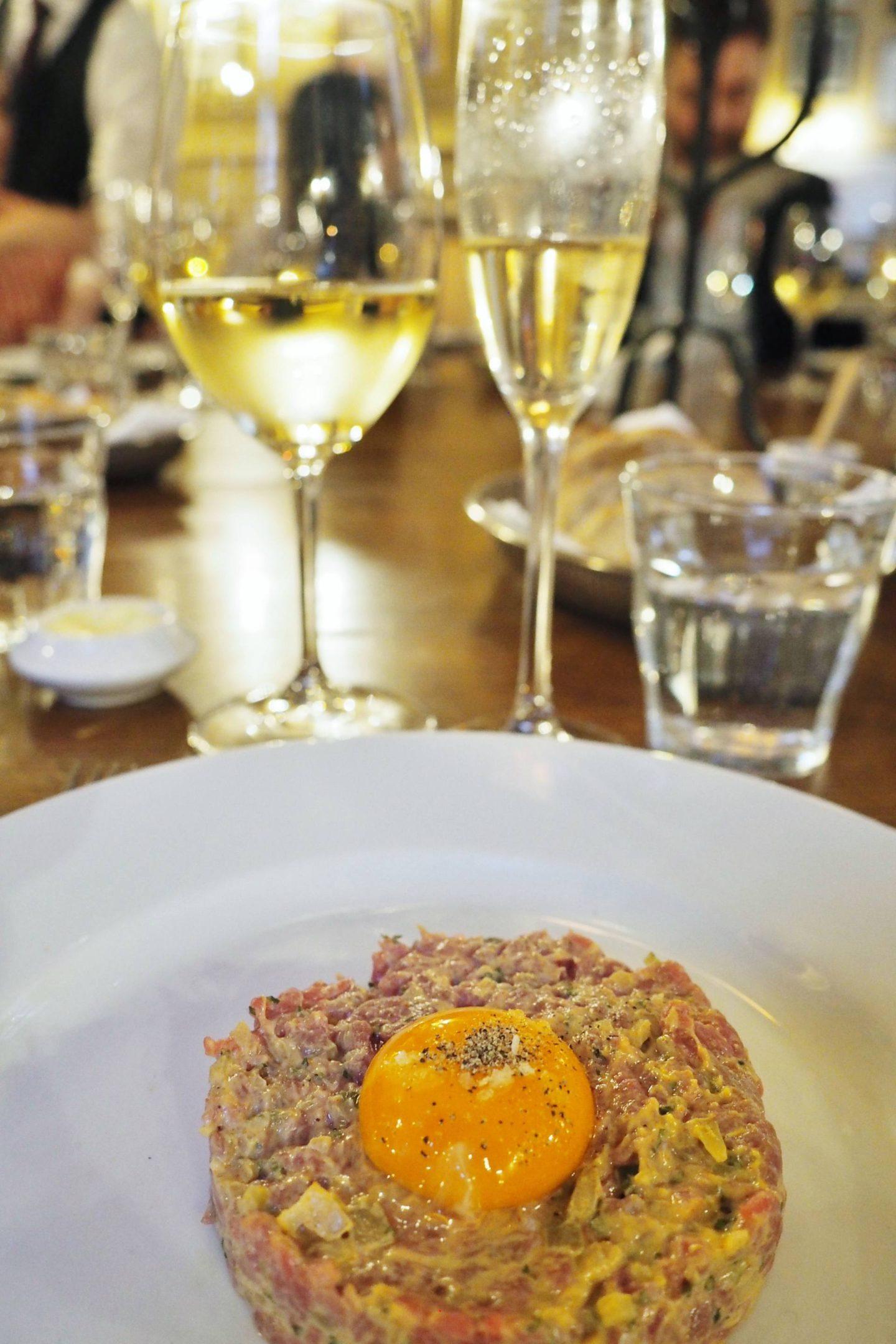 Hotel Du Vin Steak Tartare Starter
