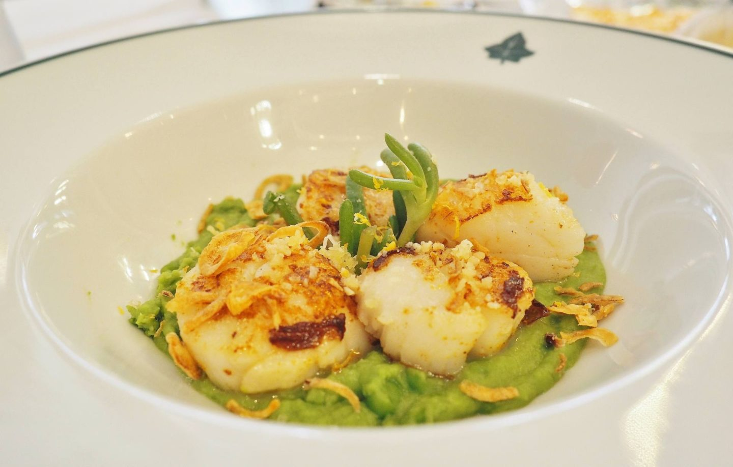 The Ivy Birmingham Scallops