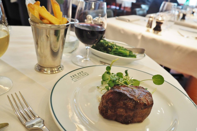 The Ivy Birmingham Fillet Steak