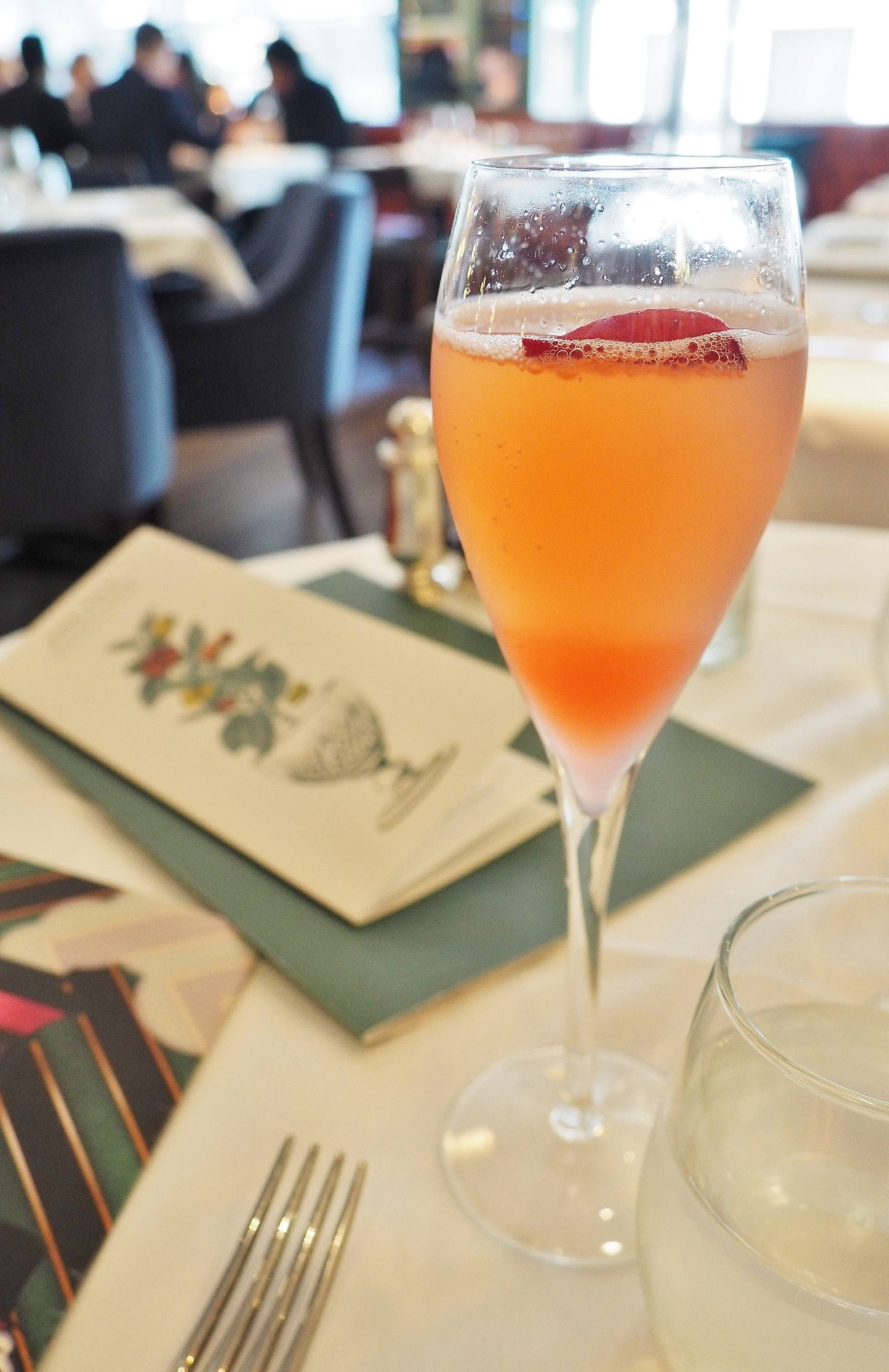 The Ivy Royale Cocktail