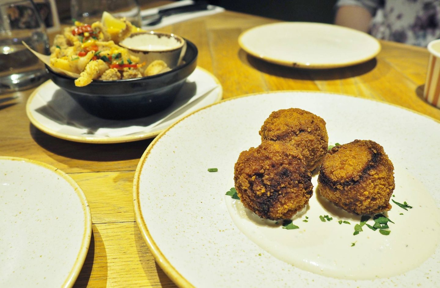 Bar + Block Birmingham Pulled Beef Croquettes