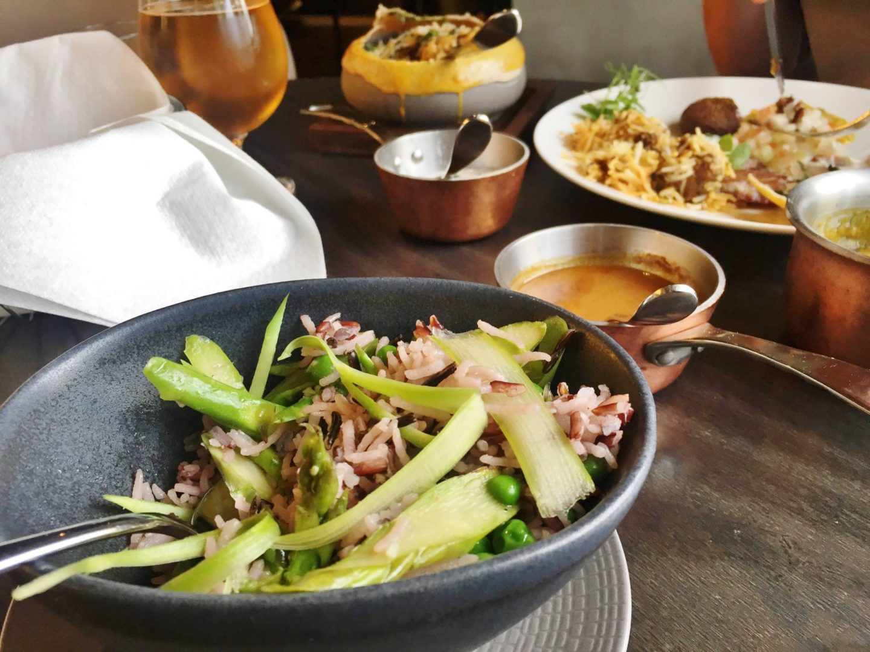 Opheem Asparagus Rice