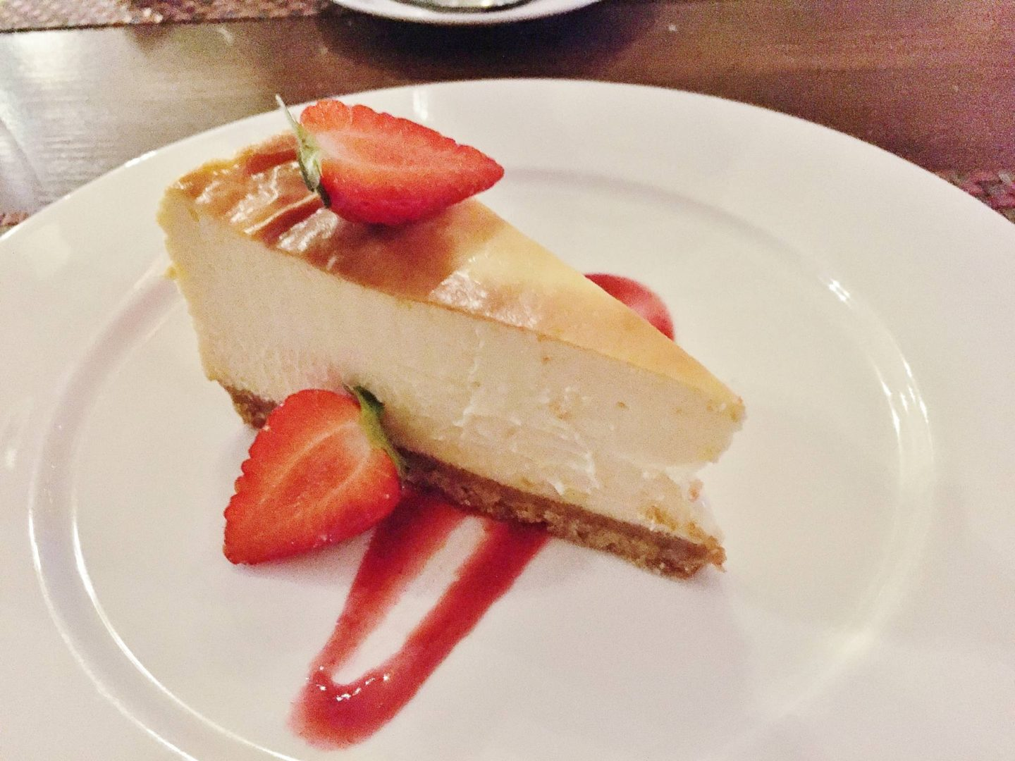 Clayton Hotel Cheesecake
