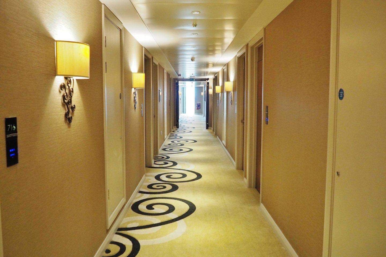 Clayton Hotel Hallway
