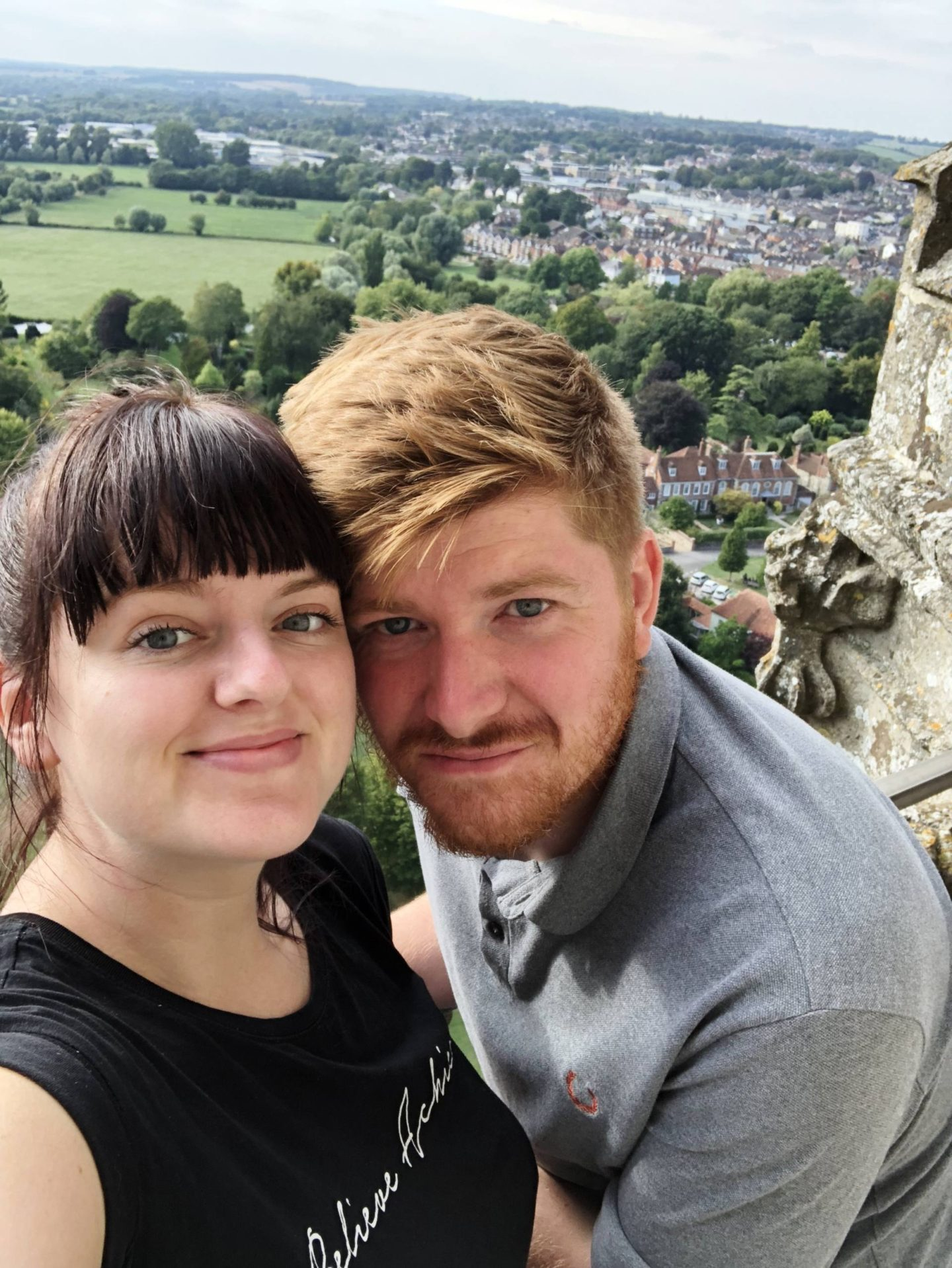Salisbury Cathedral Tour Visit Wiltshire Aerial View Selfie