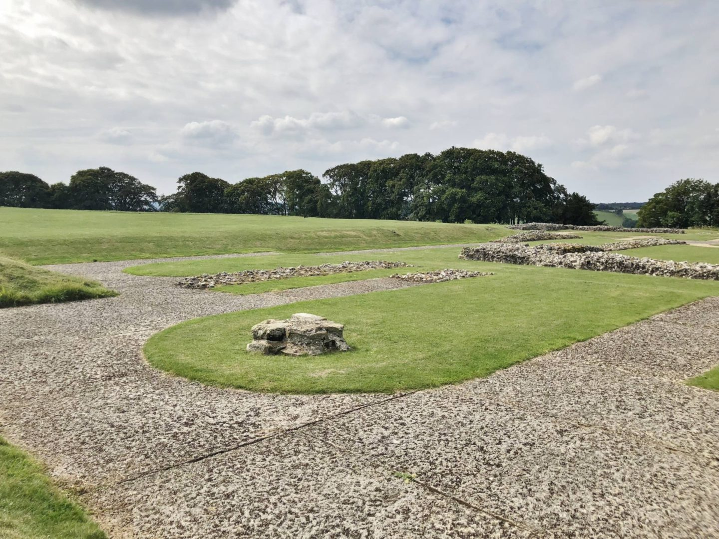 The Old Sarum Salisbury Cathedral