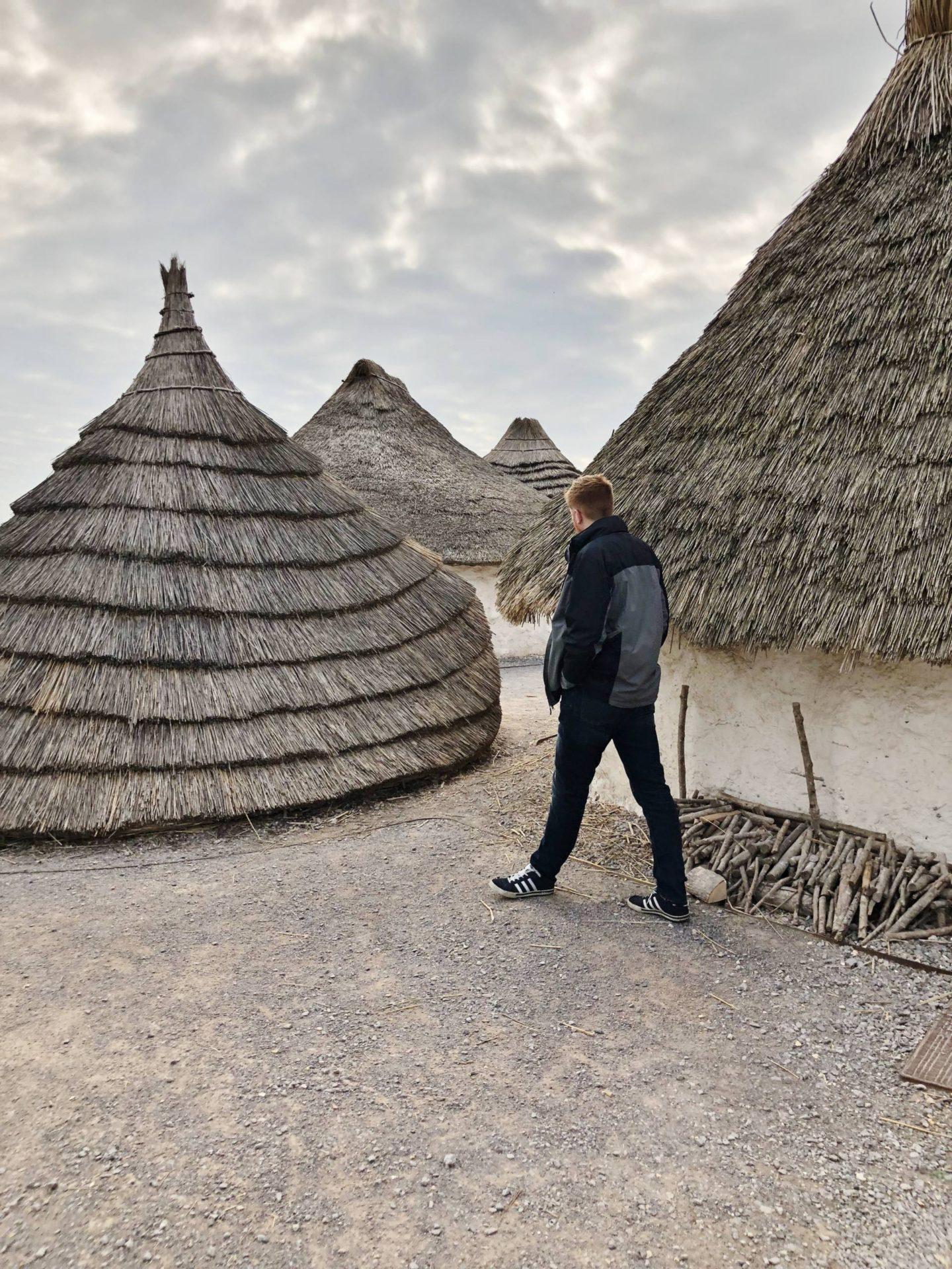 Josh Neolithic Houses Stonehenge