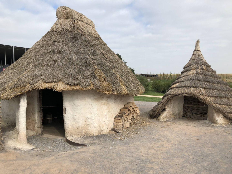 Stonehenge circle huts Salisbury