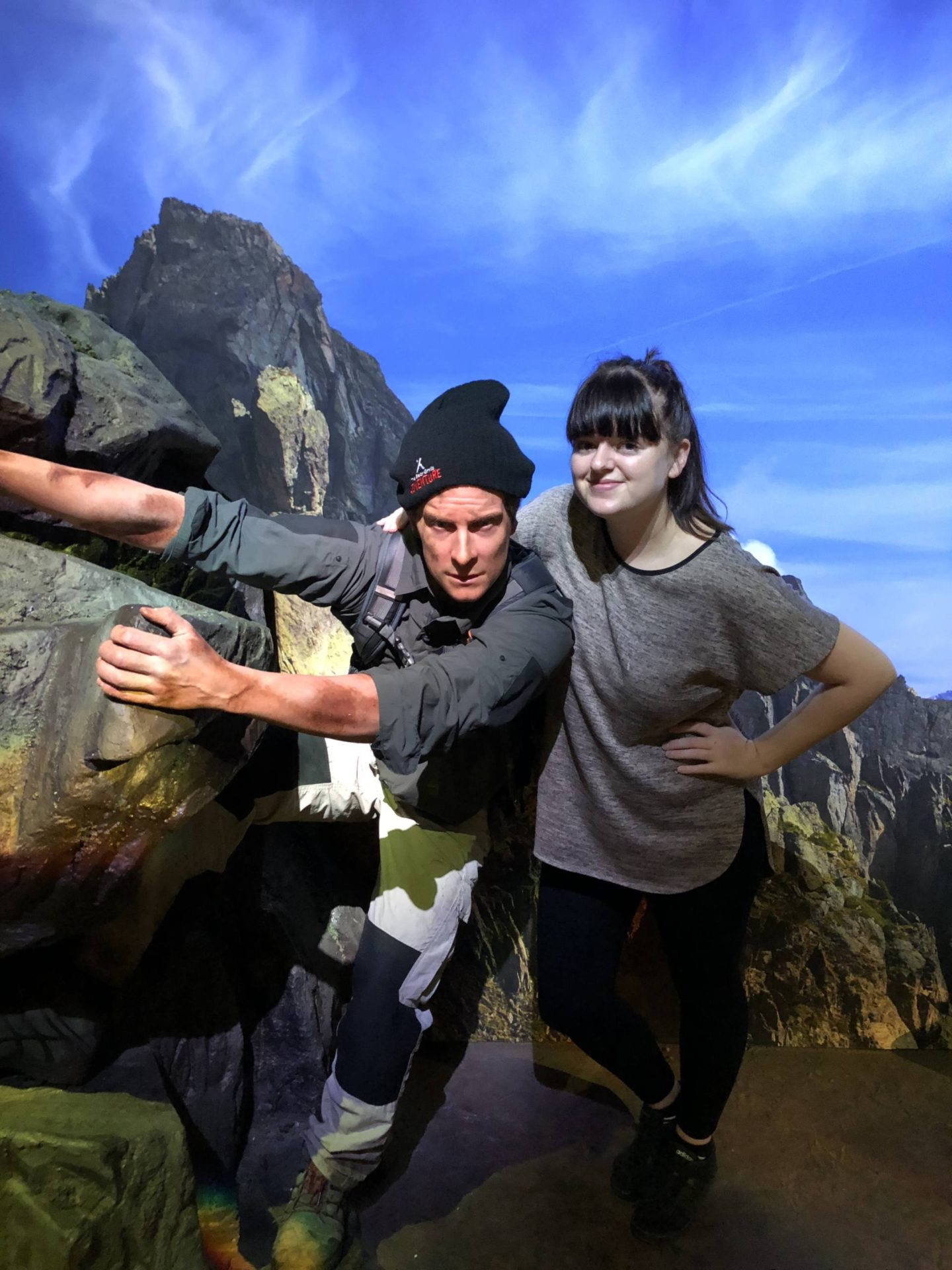 Bear Grylls Attraction Birmingham NEC bear