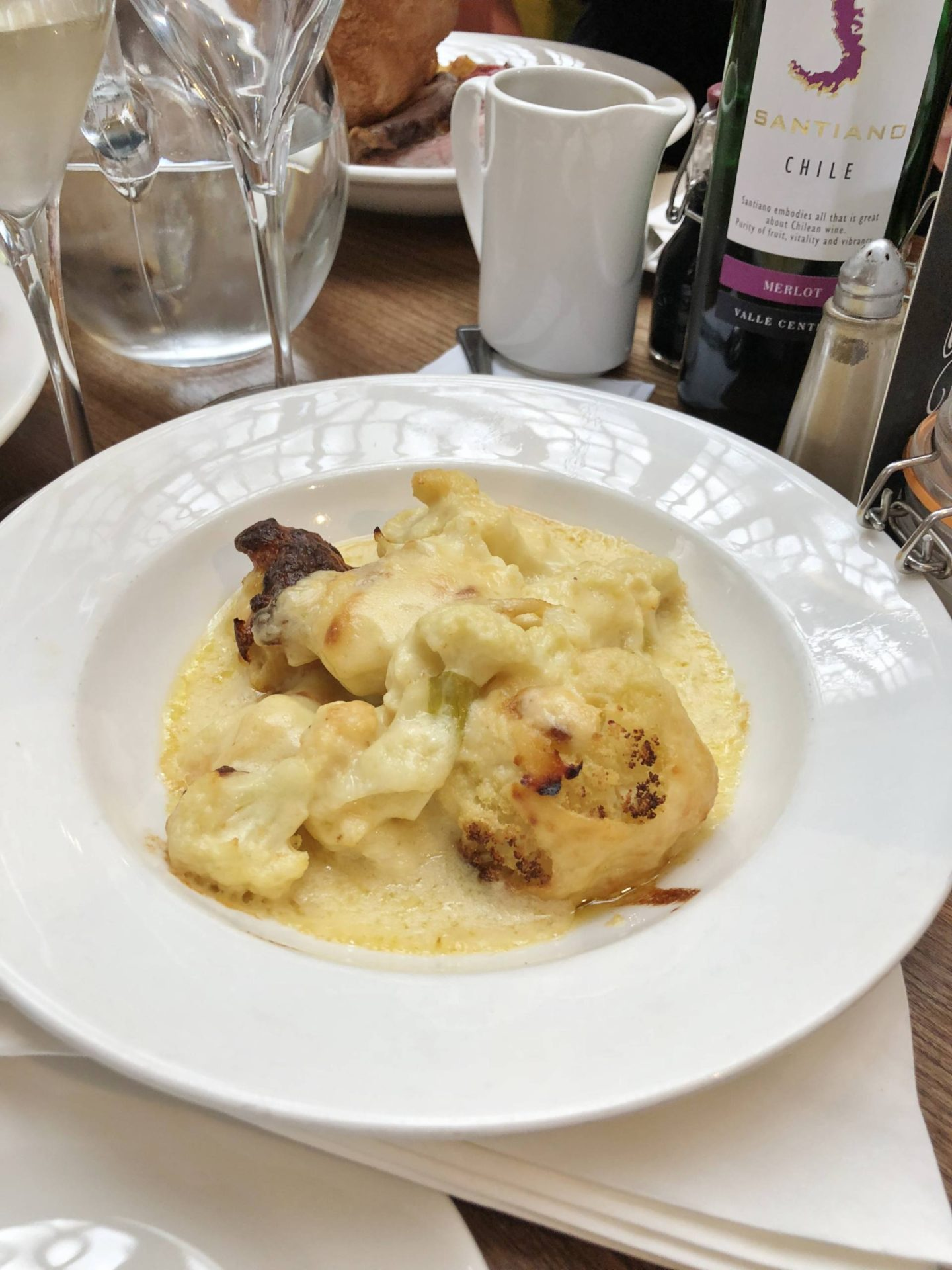 Edwardian Tearooms Birmingham Sunday Cauliflower Cheese