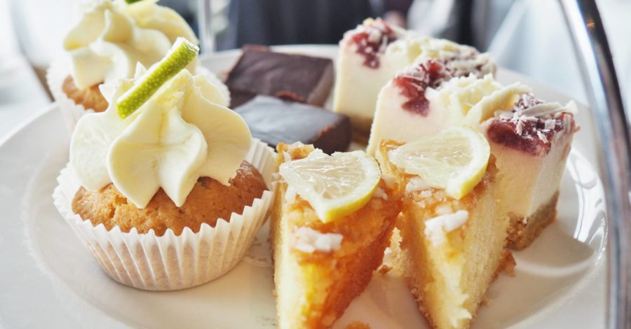 Marco Pierre White Gin Afternoon Tea Menu Cakes
