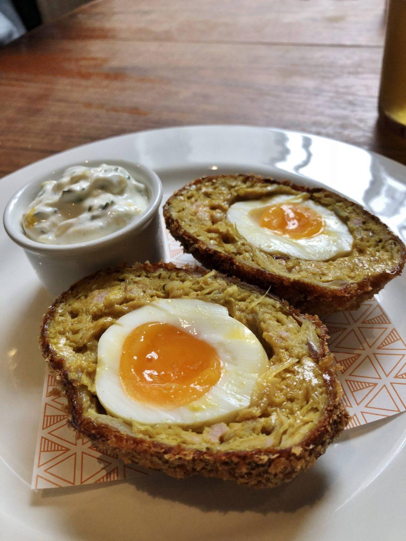 Pint Shop Onion Bhaji Scotch Egg