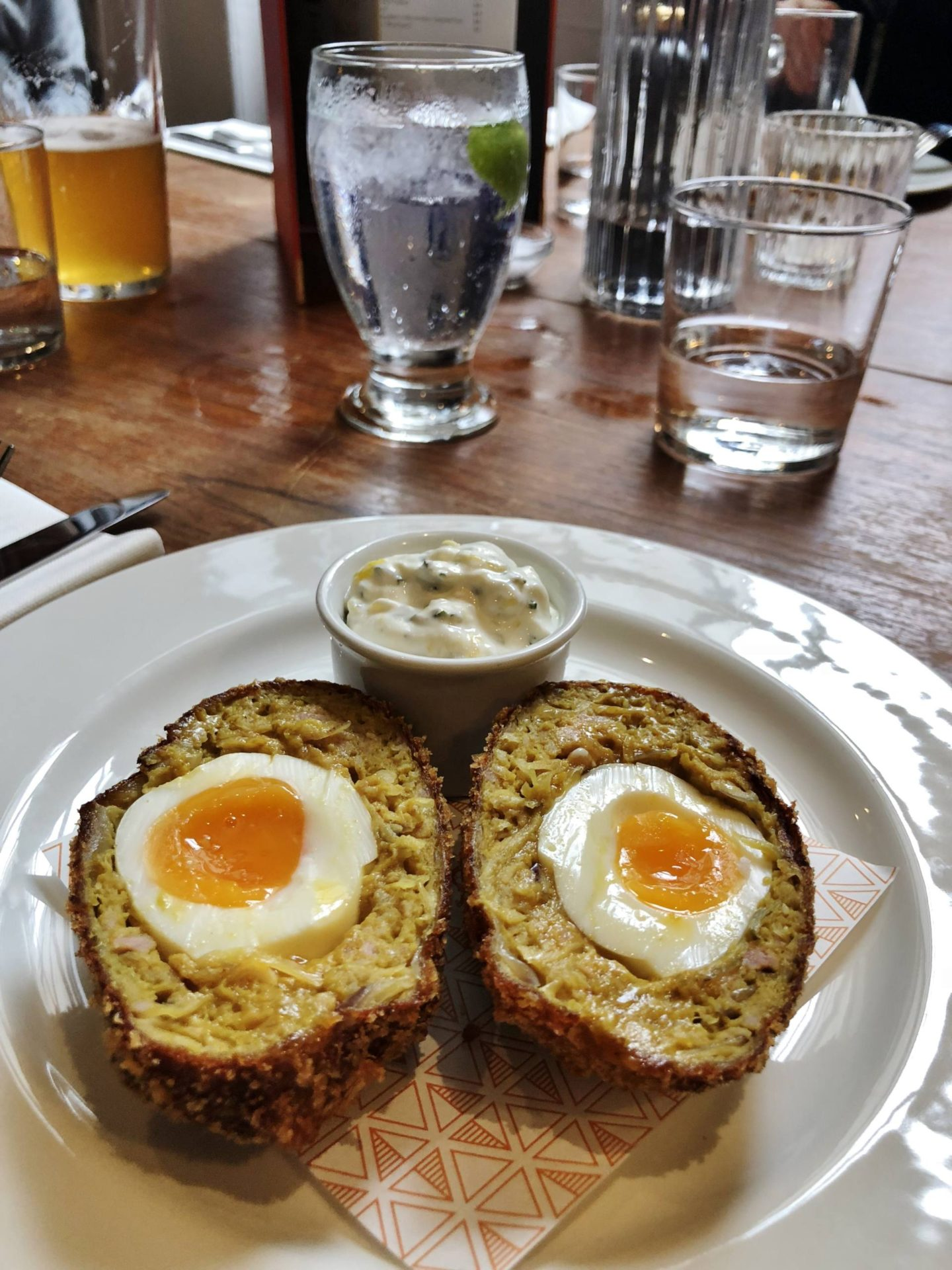 Pint Shop Onion Bhaji Scotch Egg