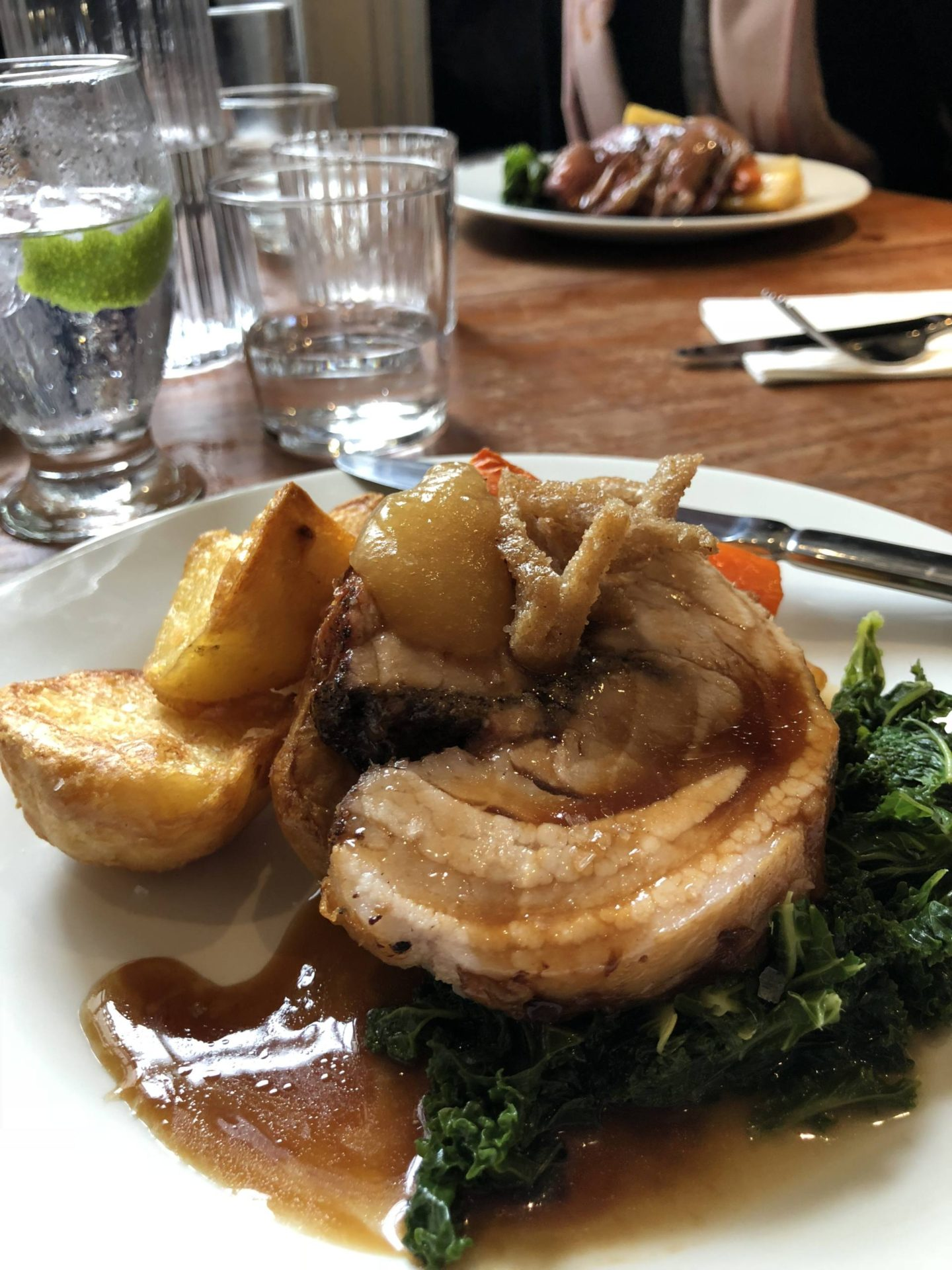 Pint Shop Sunday Roast Pork Belly Birmingham