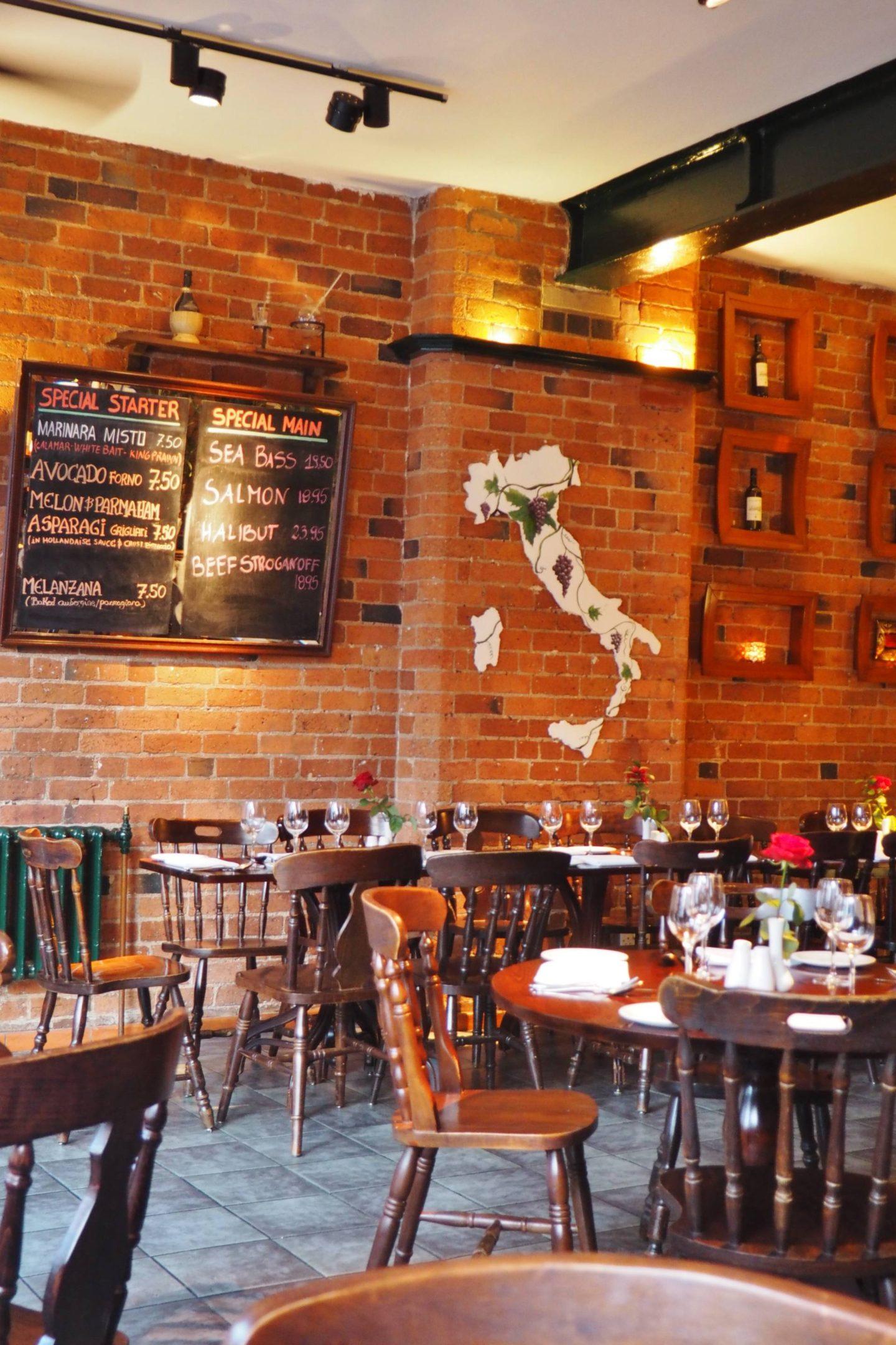 Pasta Di Piazza Jewellery Quarter Restaurant