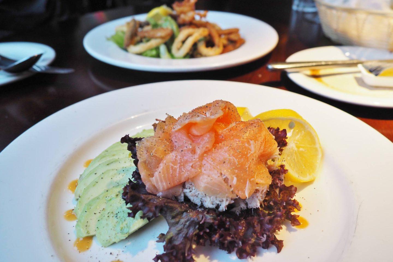 Pasta Di Piazza Smoked Salmon and Avocado