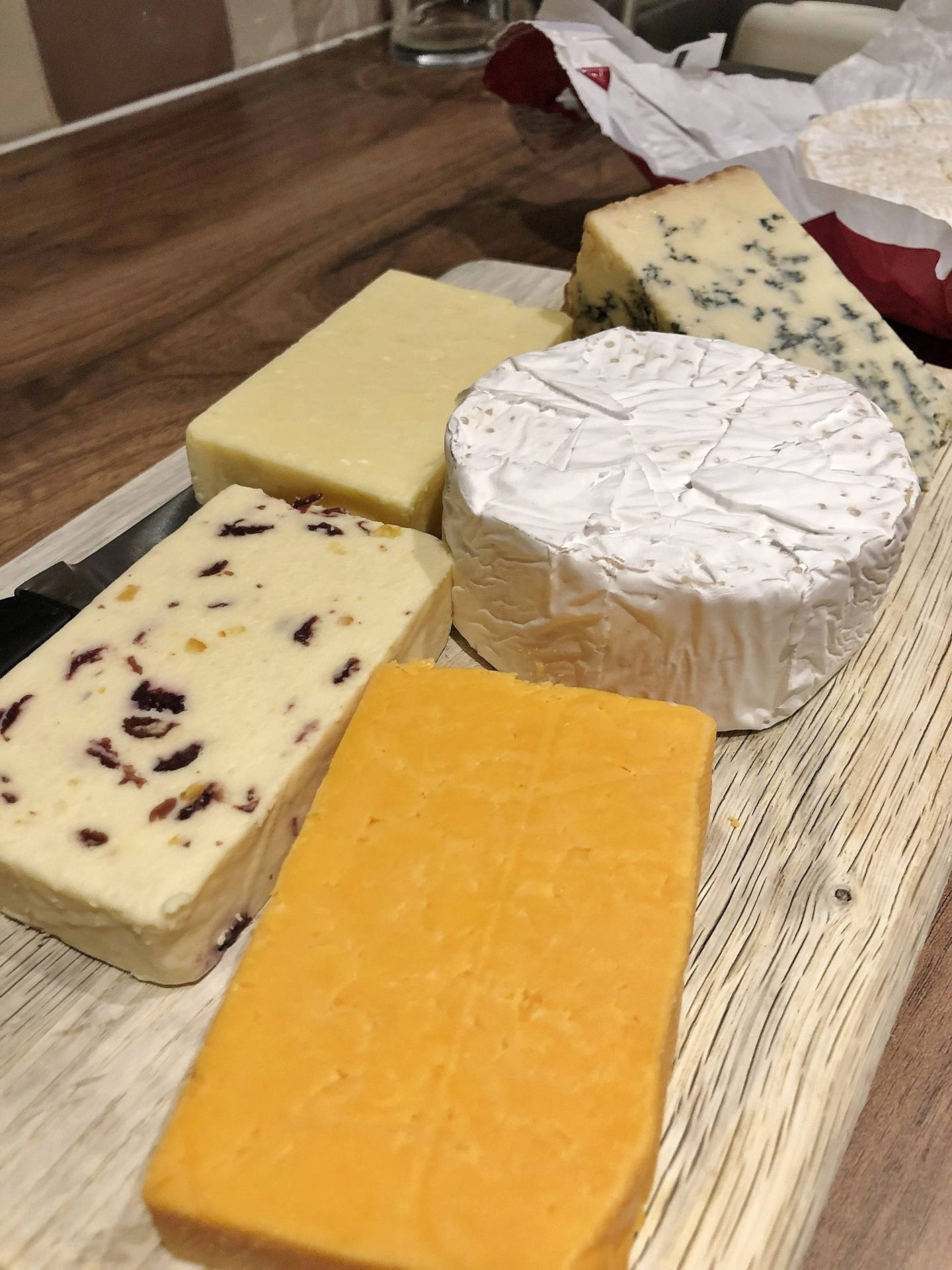 Aldi Blogger Festive Collab Cheese
