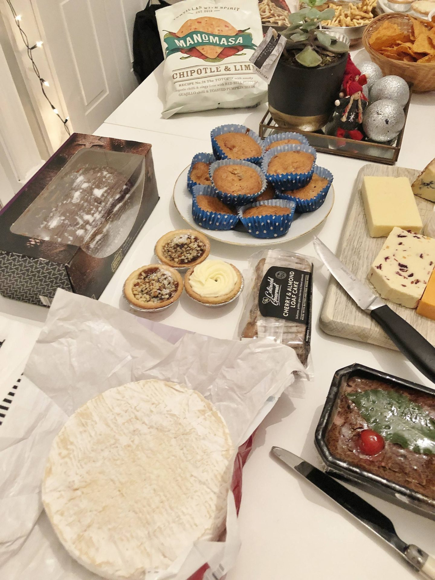 Aldi Collaboration Feast Birmingham Christmas Party Buffet Table Cheese