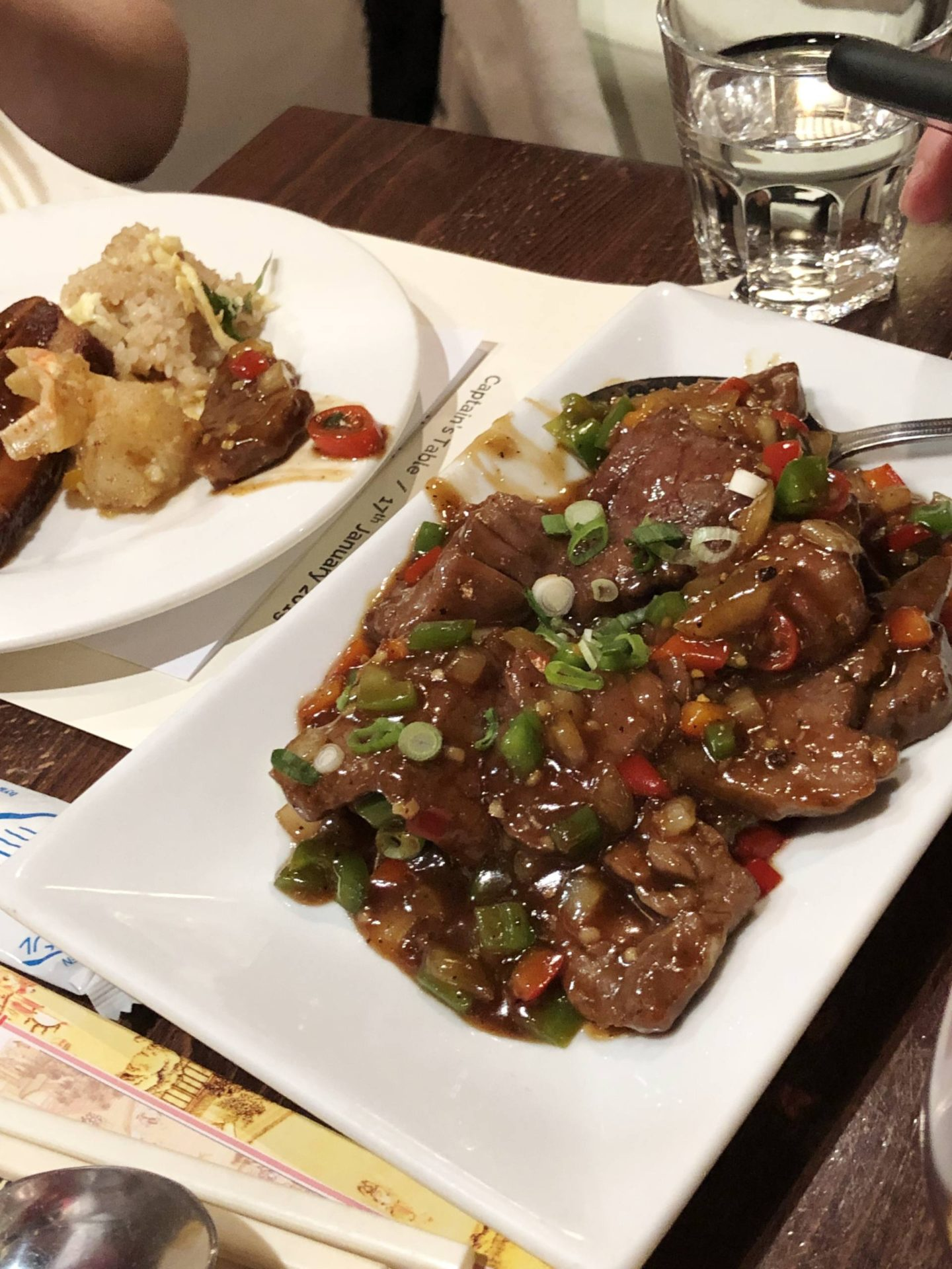 Beef Chung Ying Central