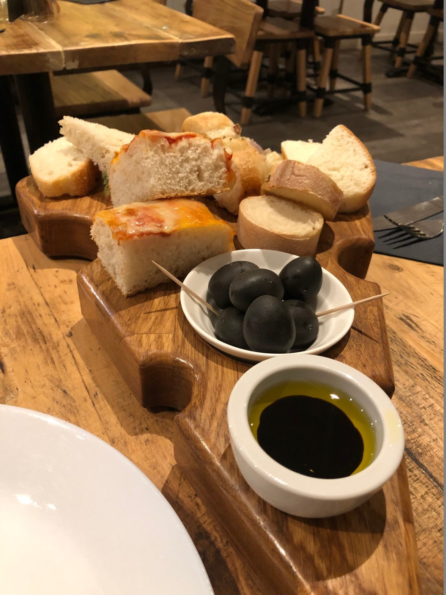 Laghis Deli Olives and Bread